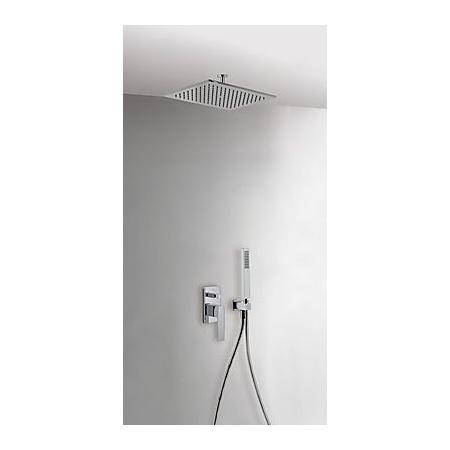 Tres Slim-Tres Zestaw prysznicowy podtynkowy z deszczownicą i z dźwignią, chrom 202.180.80