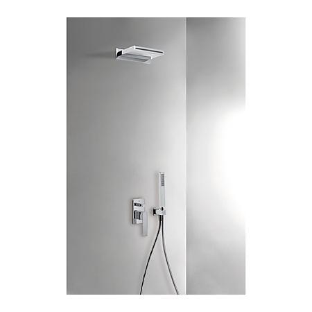 Tres Slim-Tres Zestaw prysznicowy podtynkowy z dźwignią, chrom 202.180.05