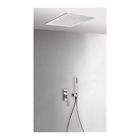 Tres Slim-Tres Zestaw prysznicowy podtynkowy z dźwignią, chrom 202.980.01