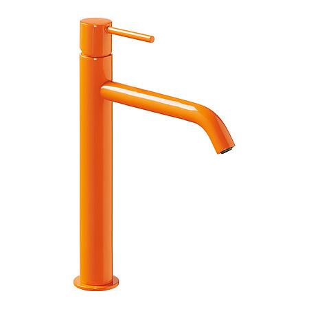 Tres Study-Colors Jednouchwytowa bateria umywalkowa stojąca z dźwignią, pomarańczowa 262.308.01.TNA.D