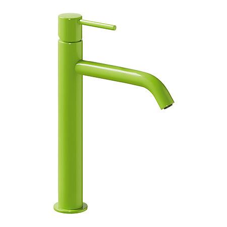 Tres Study-Colors Jednouchwytowa bateria umywalkowa stojąca z dźwignią, zielona 262.308.01.TVE.D