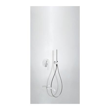 Tres Study-Colors Zestaw prysznicowy z baterią podtynkową, biały 262.180.03.TB.L
