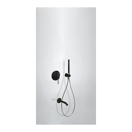 Tres Study-Colors Zestaw prysznicowy podtynkową czarny 262.180.03.TN.E