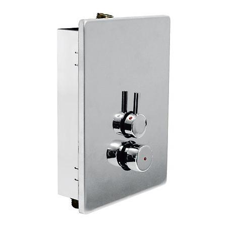 Tres Trestronic Bateria prysznicowa mieszająca programowalna, chrom 012.179.01