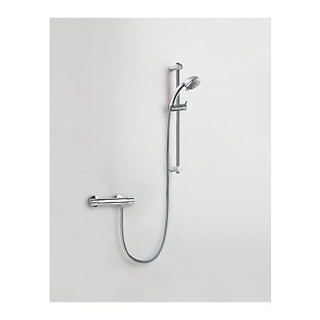 Tres Tresmostatic Zestaw prysznicowy natynkowy z baterią termostatyczną, chrom 1.83.395