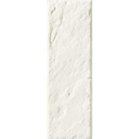 Tubądzin All in white 6 STR Płytka ścienna 23,7x7,8  cm, biała TUBAIWPS297786STR