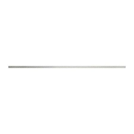 Tubądzin All in white Steel 12 Listwa ścienna 59,8x1 cm, stalowa TUBAIWLS5981STEEL12
