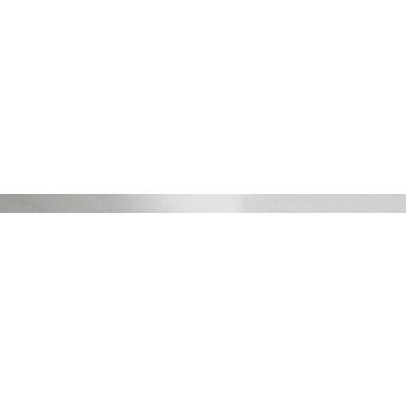 Tubądzin Aulla Steel 22 POL Listwa ścienna 119,8x5,5x0,7 cm, stalowa polerowana TUBLSAULSTE22POL11985507