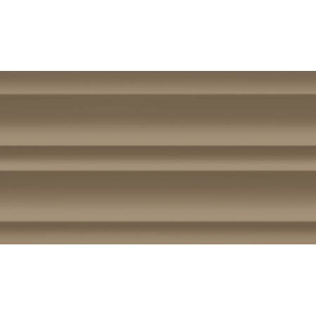 Tubądzin Colour Brown Mocca R.4 Płytka ścienna 59,3x32,7x1 cm, kawowa połysk TUBPSCOLBROMOCR45933271