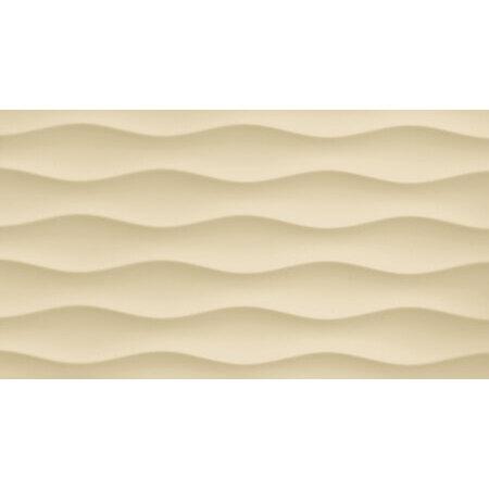 Tubądzin Colour Brown Vanila R.3 Płytka ścienna 59,3x32,7x1 cm, waniliowa połysk TUBPSCOLBROVANR35933271