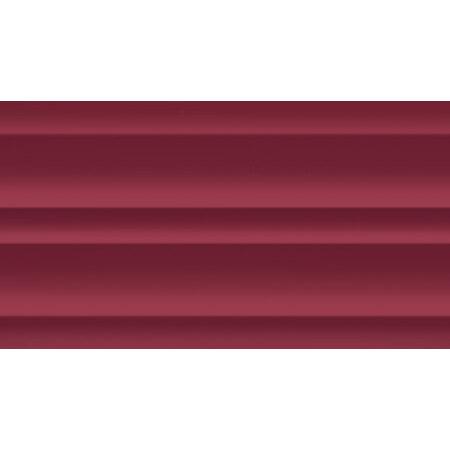 Tubądzin Colour Carmine R.4 Płytka ścienna 59,3x32,7x1 cm, bordowa, połysk TUBPSCOLCARR45933271