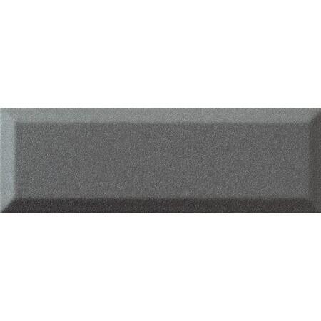 Tubądzin Elementary bar graphite Płytka ścienna 23,7x7,8x1,15 cm, grafitowa półmat TUBPSELEBARGRA23778115