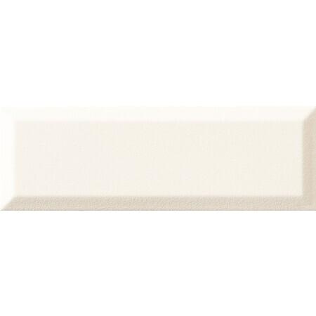 Tubądzin Elementary bar white Płytka ścienna 23,7x7,8x1,15 cm, biała półmat TUBPSELEBARWHI23778115