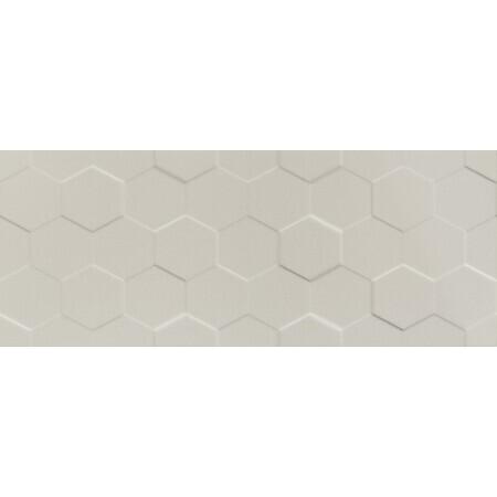 Tubądzin Elementary dust hex STR Płytka ścienna 74,8x29,8x1 cm, kawowa, półmat TUBPSELEDUSHEXSTR7482981