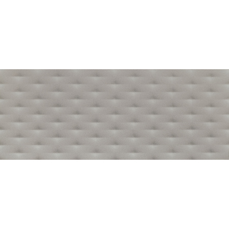Tubądzin Elementary grey diamond STR Płytka ścienna 74,8x29,8x1 cm, szara półmat TUBPSELEGREDIASTR7482981