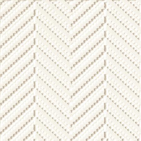Tubądzin Elementary patch white STR Dekor ścienny 20 różnych wzorów pakowanych losowo 14,8x14,8x1,1 cm, biały półmat TUBDSELEPATWHISTR1481481117