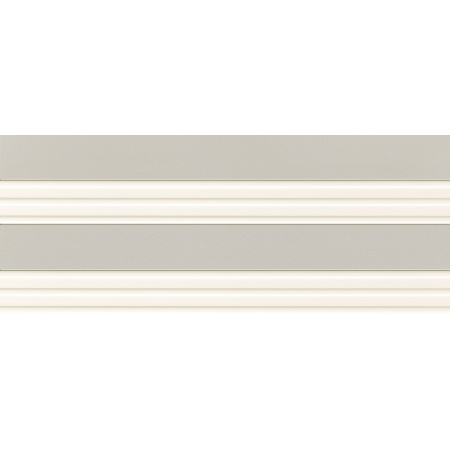 Tubądzin Elementary retro dust Dekor ścienny 74,8x29,8x1 cm, kremowy, szary, mat, półmat TUBDSELERETDUS7482981