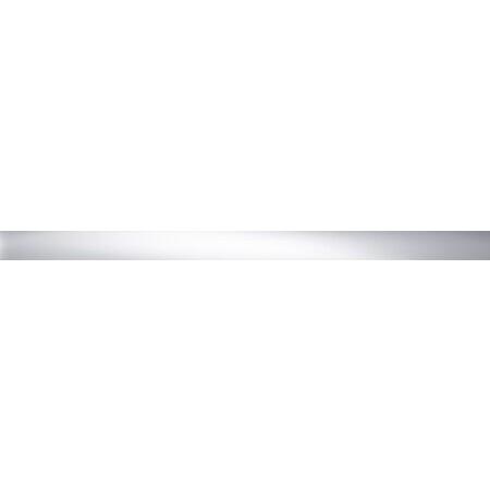 Tubądzin Elementary Steel 16 POL Listwa ścienna 74,8x4,5x1 cm, stalowa połysk TUBLSELESTE16POL748451