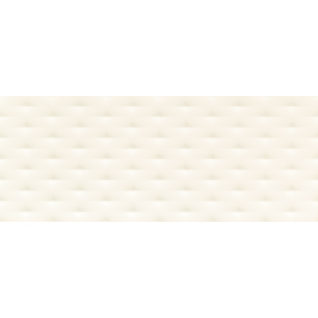 Tubądzin Elementary white diamond STR Płytka ścienna 74,8x29,8x1 cm, biała półmat TUBPSELEWHIDIASTR7482981