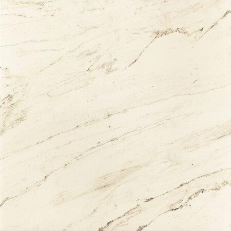 Tubądzin Larda white POL Płytka podłogowa 59,8x59,8x1,1 cm, biała polerowana TUBPPLARWHIPOL59859811