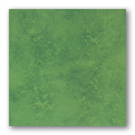 Tubądzin Majolika Malwa 14 Płytka podłogowa gresowa 33,3x33,3x0,8 cm, zielona, połysk TUBPPMAJMAL1433333308