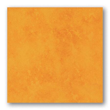 Tubądzin Majolika Nimfea 12 Płytka podłogowa gresowa 33,3x33,3x0,8 cm, żółta, połysk TUBPPMAJNIM1233333308
