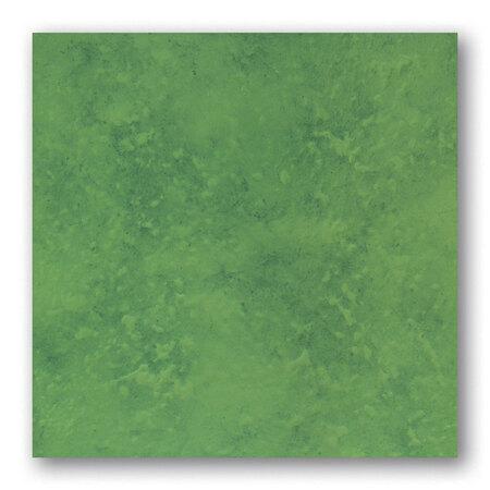 Tubądzin Majolika Nimfea 14 Płytka podłogowa gresowa 33,3x33,3x0,8 cm, zielona, połysk TUBPPMAJNIM1433333308