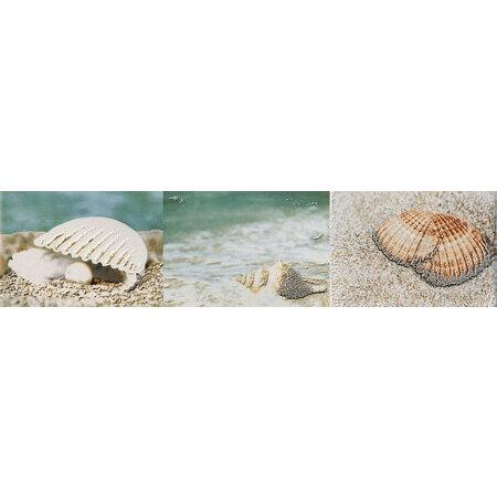 Tubądzin Maxima azure 1 Listwa ścienna 44,8x10x0,8 cm, piaskowa, niebieska, połysk TUBLSMAXAZU14481008
