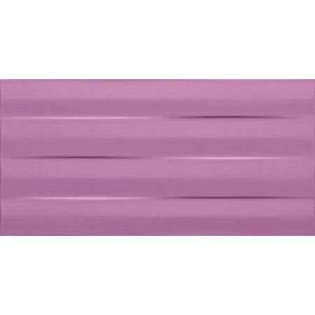 Tubądzin Maxima Violet&Purple Maxima purple struktura Płytka ścienna 44,8x22,3x1 cm, różowa, połysk TUBPSMAXVIOPURSTR4482231