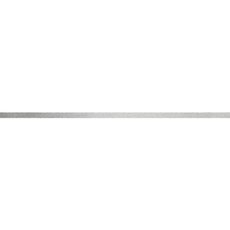 Tubądzin Obsydian Steel 10 Listwa ścienna 59,8x1,5x1 cm, stalowa połysk TUBLSOBSSTE10598151