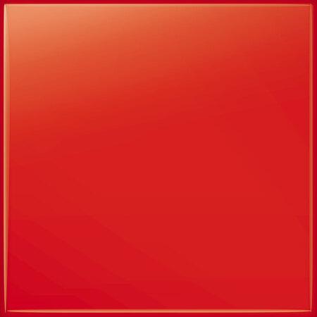 Tubądzin Pastel czerwony Płytka ścienna 20x20x0,65 cm, czerwona połysk RAL K7/3020 TUBPSPASPASCZERALK730202020065