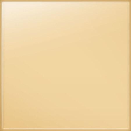Tubądzin Pastel waniliowy Płytka ścienna 20x20x0,65 cm, waniliowa połysk RAL D2/090 90 20 TUBPSPASPASWANRALD20902020065