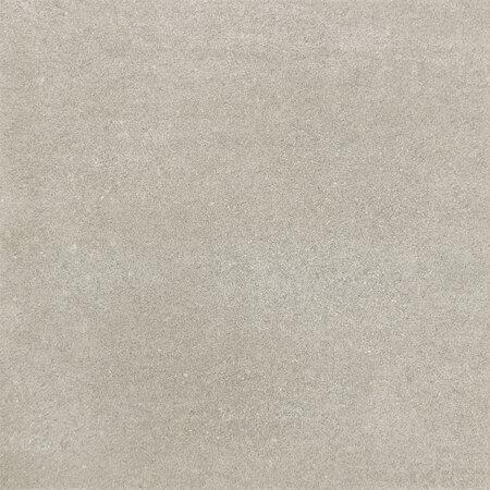 Tubądzin Timbre grey Płytka podłogowa gresowa 44,8x44,8x0,85 cm, szara lappato TUBPPTIMGRE448448085