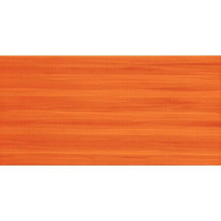 Tubądzin Wave orange Płytka ścienna 44,8x22,3x0,8 cm, pomarańczowa połysk TUBPSWAVORA44822308
