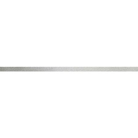 Tubądzin Zirconium Steel 11 Listwa ścienna 44,8x1,5x0,8 cm, stalowa połysk TUBLSZIRSTE114481508