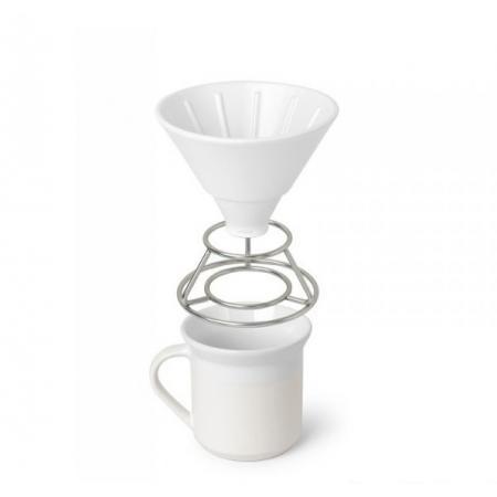 Umbra Perk Drip do kawy z kubkiem, biały 1008117-670
