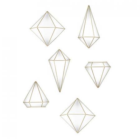 Umbra Prisma Dekoracja ścienna, złota 470520-221