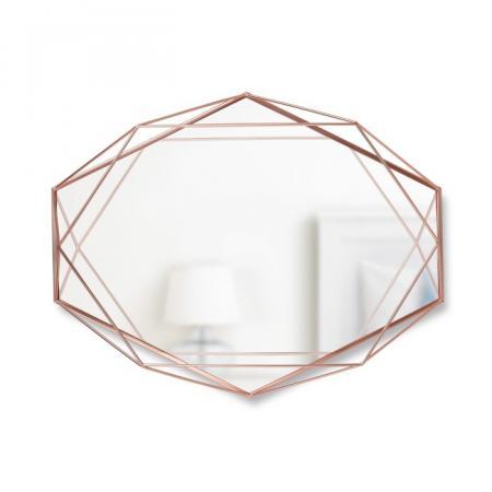 Umbra Prisma Lustro wiszące 56,5x8,3x42,5 cm, miedź 358776-880