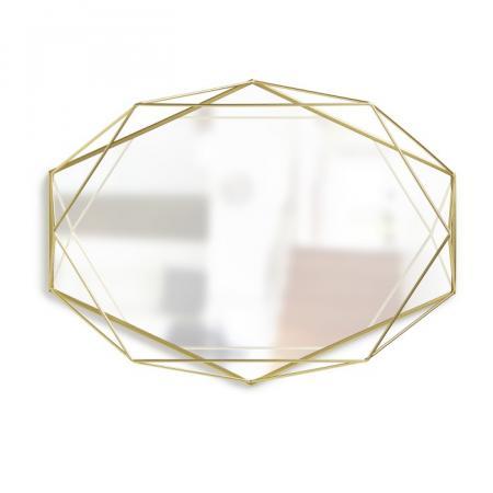 Umbra Prisma Lustro wiszące 56,5x8,3x42,5 cm, złote 358776-165