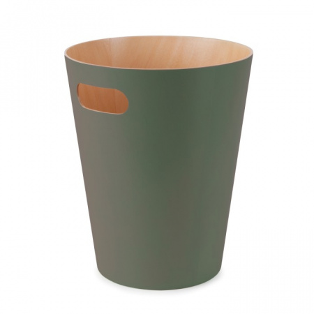 Umbra Woodrow Kosz na śmieci, zielony 082780-1095