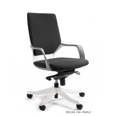 Unique Apollo M Fotel biurowy, biały/czarny W-908W-BL418