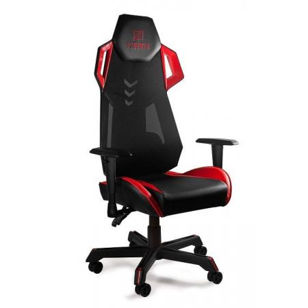 Unique Dynamiq V11 Fotel gamingowy, czarny/czerwony GMP-001-1-4-2