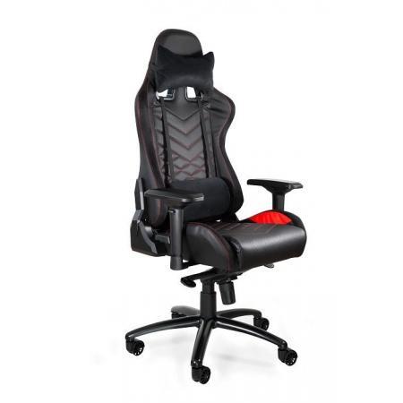 Unique Dynamiq V3 Fotel gamingowy, czarny/czerwony Y-2666-4-2