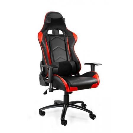 Unique Dynamiq V5 Fotel gamingowy, czarny/czerwony Y-2689-4-2