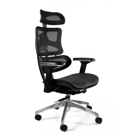 Unique Ergotech Fotel biurowy, czarny CM-B137A