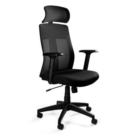 Unique Explore Fotel biurowy, czarny W-175C