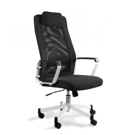 Unique Fox Fotel biurowy czarny W-153A-4