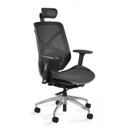 Unique Hero Fotel biurowy, czarny ZM-6661-B-NWH-4