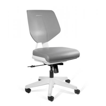 Unique Kaden Low Krzesło medyczne szare 1167N3-GREY/GREY