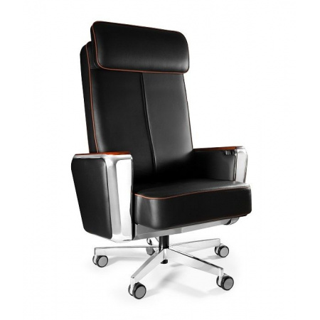 Unique Regent Fotel biurowy czarny 689B-FL-4